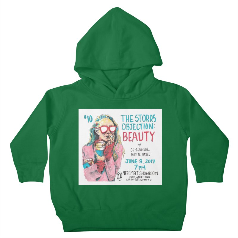 The Storrs Objection: Beauty Kids Toddler Pullover Hoody by PEP's Artist Shop