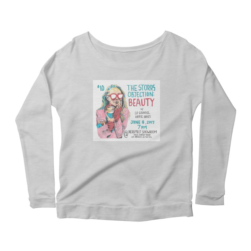 The Storrs Objection: Beauty Women's Scoop Neck Longsleeve T-Shirt by PEP's Artist Shop