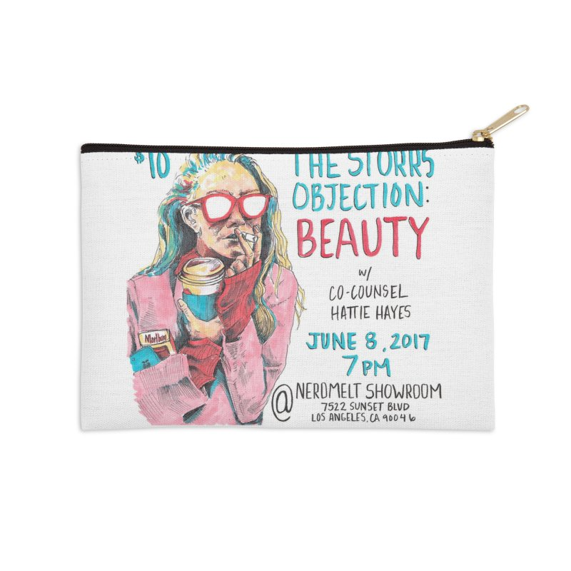 The Storrs Objection: Beauty Accessories Zip Pouch by PEP's Artist Shop