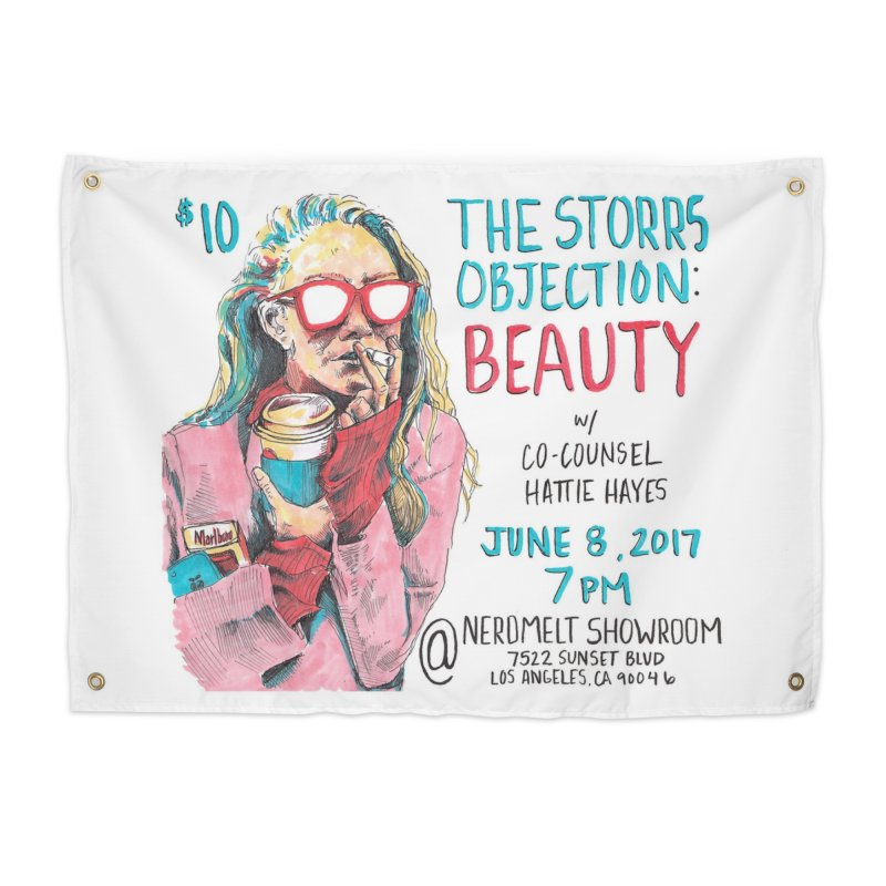 The Storrs Objection: Beauty Home Tapestry by PEP's Artist Shop