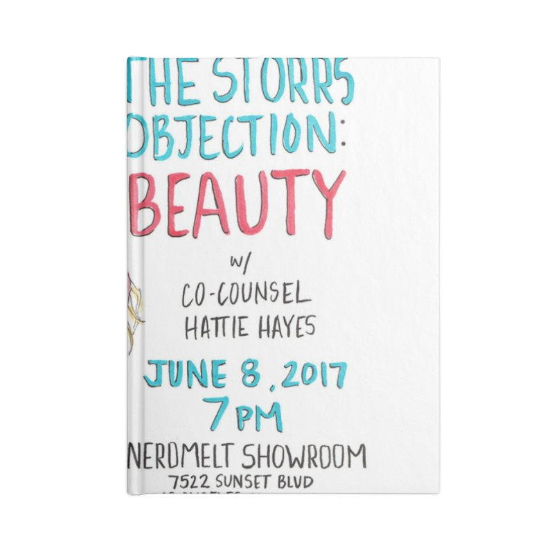 The Storrs Objection: Beauty Accessories Notebook by PEP's Artist Shop