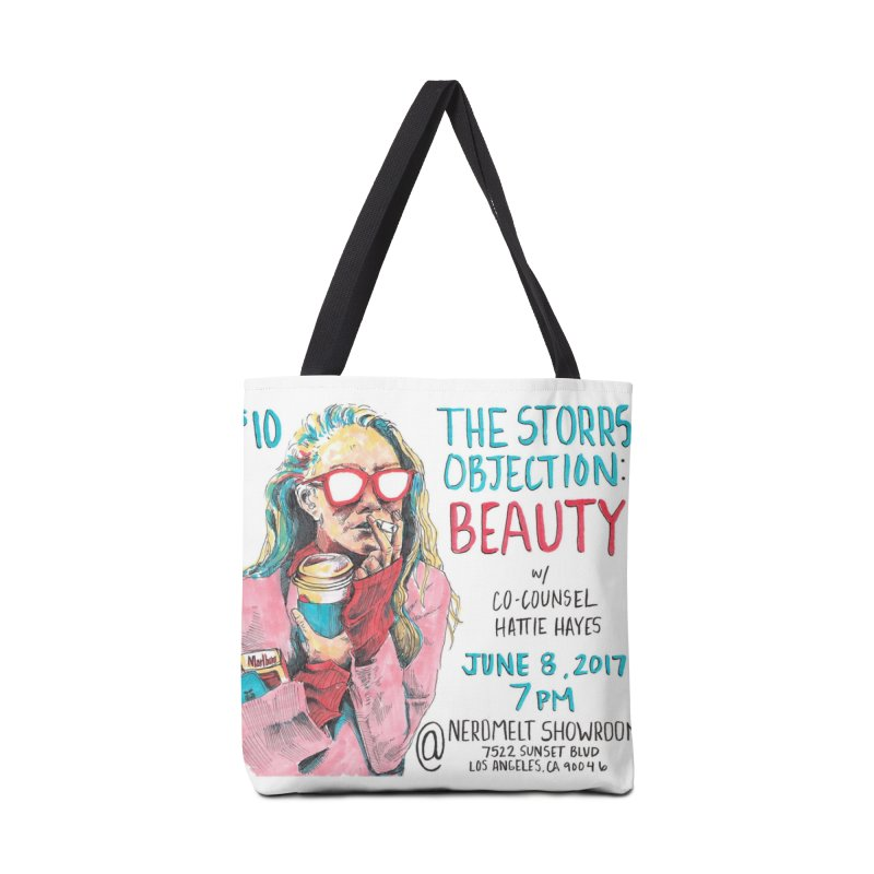 The Storrs Objection: Beauty Accessories Bag by PEP's Artist Shop