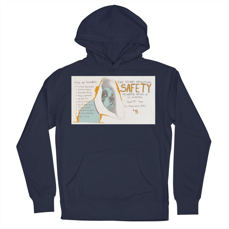 The Storrs Objection: Safety Men's Pullover Hoody by PEP's Artist Shop