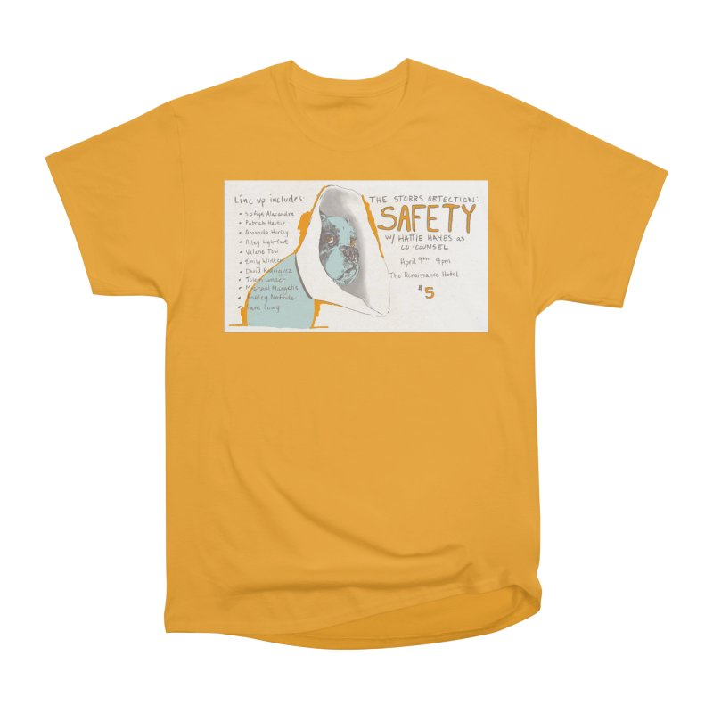 The Storrs Objection: Safety Women's Heavyweight Unisex T-Shirt by PEP's Artist Shop