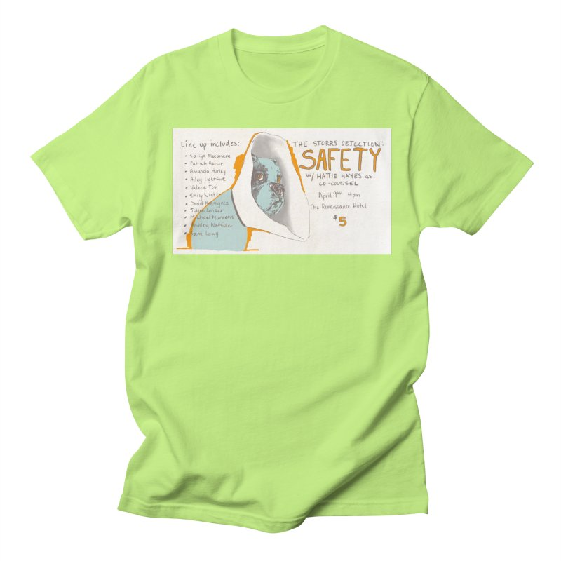 The Storrs Objection: Safety Women's Unisex T-Shirt by PEP's Artist Shop