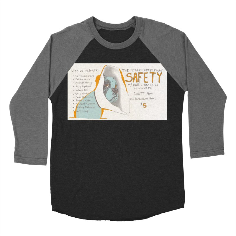 The Storrs Objection: Safety Women's Baseball Triblend T-Shirt by PEP's Artist Shop