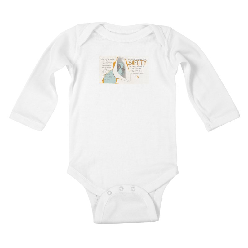The Storrs Objection: Safety Kids Baby Longsleeve Bodysuit by PEP's Artist Shop