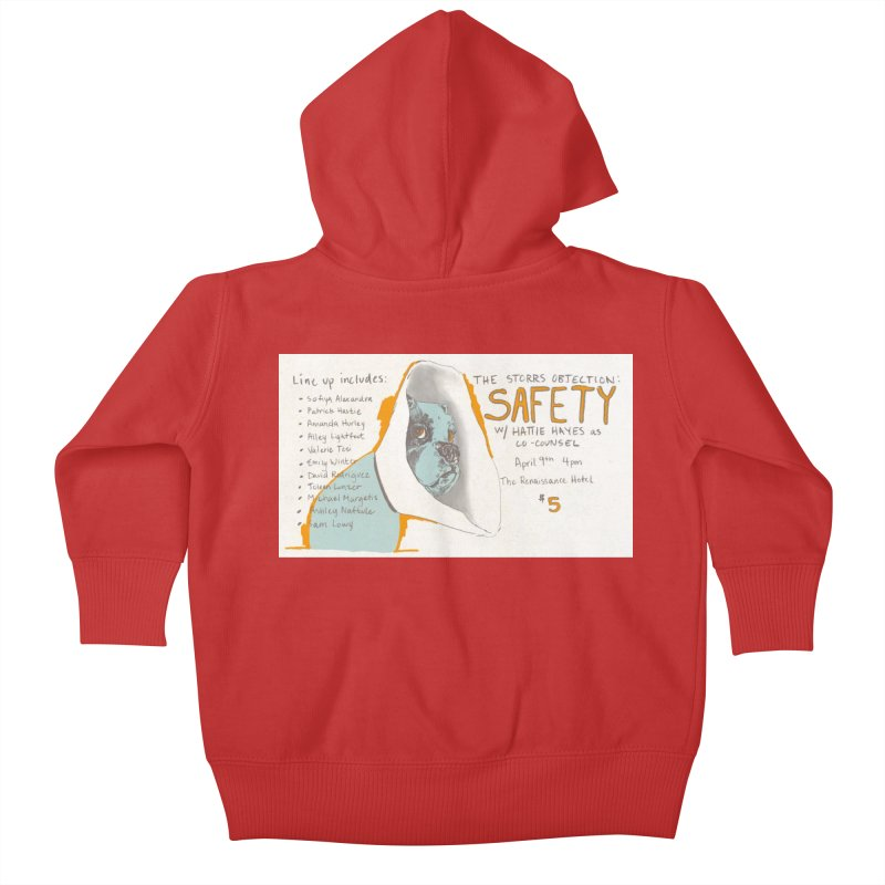 The Storrs Objection: Safety Kids Baby Zip-Up Hoody by PEP's Artist Shop
