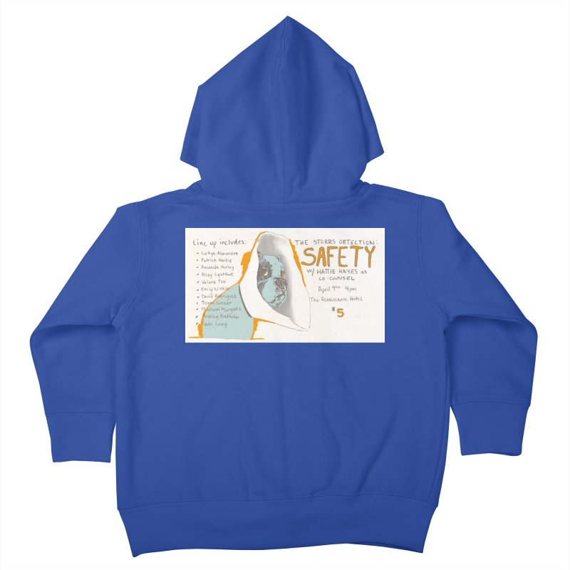 The Storrs Objection: Safety Kids Toddler Zip-Up Hoody by PEP's Artist Shop