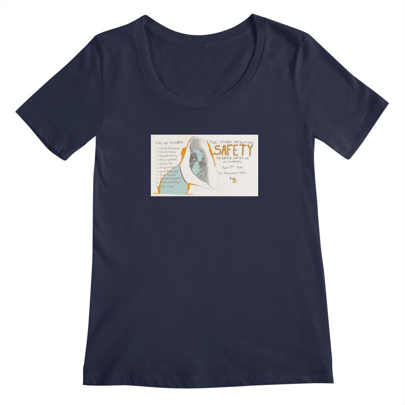 The Storrs Objection: Safety Women's Scoopneck by PEP's Artist Shop