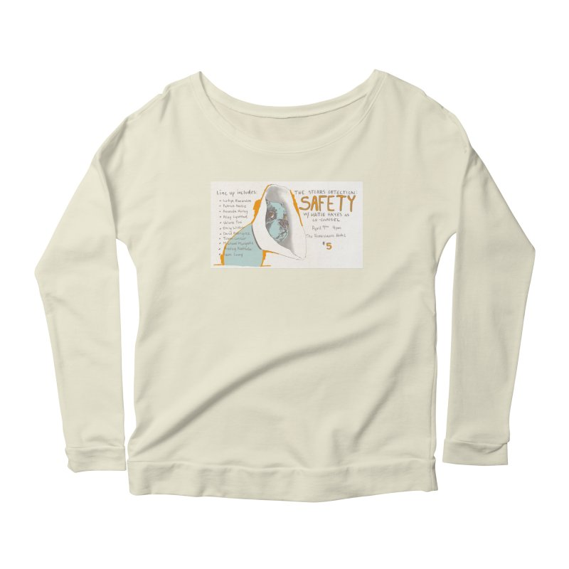 The Storrs Objection: Safety Women's Scoop Neck Longsleeve T-Shirt by PEP's Artist Shop