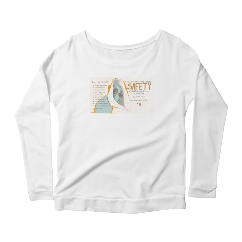 The Storrs Objection: Safety Women's Longsleeve Scoopneck  by PEP's Artist Shop