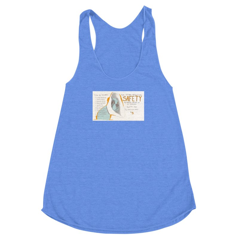 The Storrs Objection: Safety Women's Racerback Triblend Tank by PEP's Artist Shop