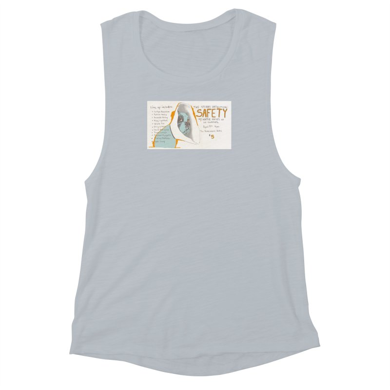 The Storrs Objection: Safety Women's Muscle Tank by PEP's Artist Shop