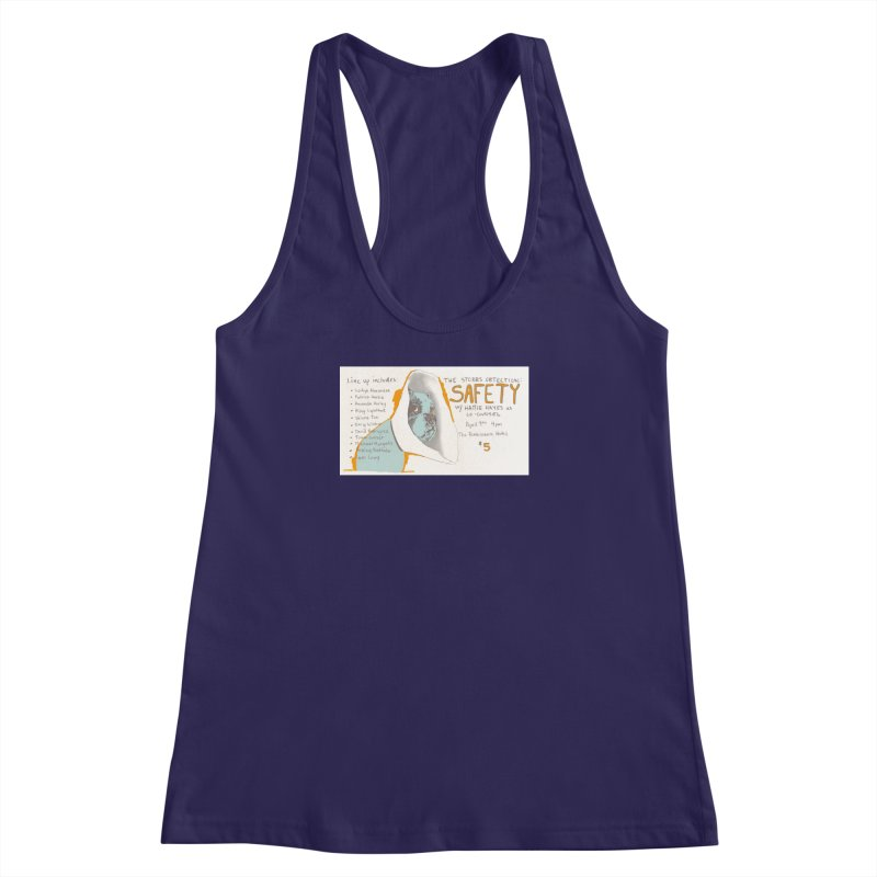 The Storrs Objection: Safety Women's Racerback Tank by PEP's Artist Shop
