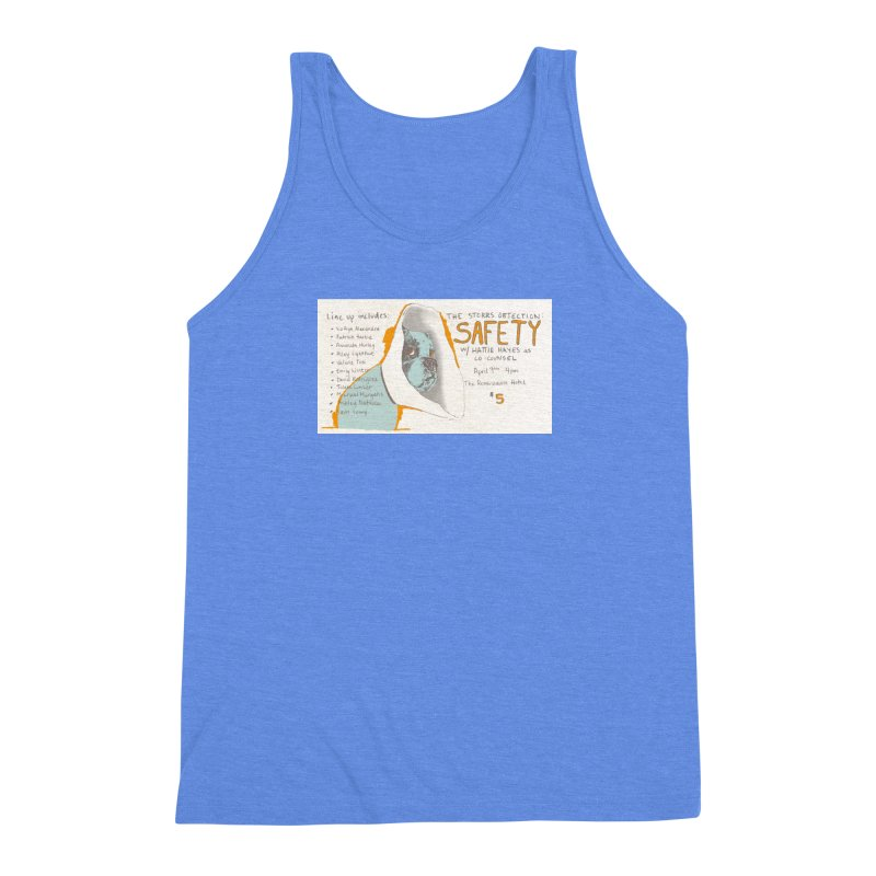 The Storrs Objection: Safety Men's Triblend Tank by PEP's Artist Shop