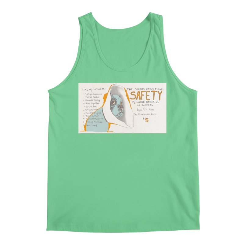 The Storrs Objection: Safety Men's Regular Tank by PEP's Artist Shop