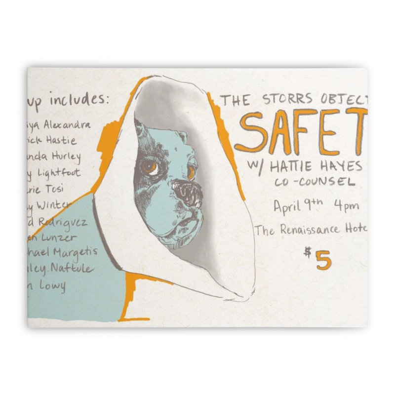 The Storrs Objection: Safety Home Stretched Canvas by PEP's Artist Shop