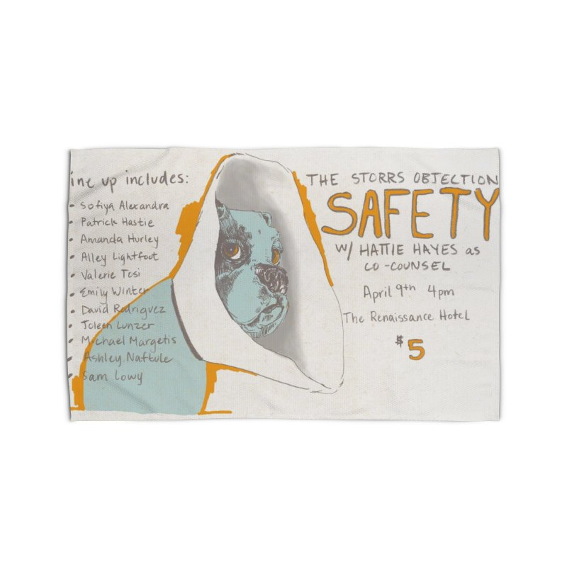 The Storrs Objection: Safety Home Rug by PEP's Artist Shop