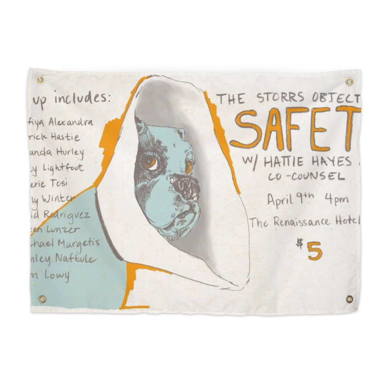The Storrs Objection: Safety Home Tapestry by PEP's Artist Shop