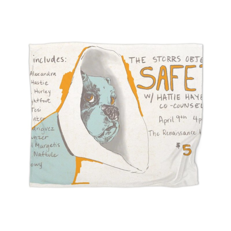 The Storrs Objection: Safety Home Fleece Blanket Blanket by PEP's Artist Shop