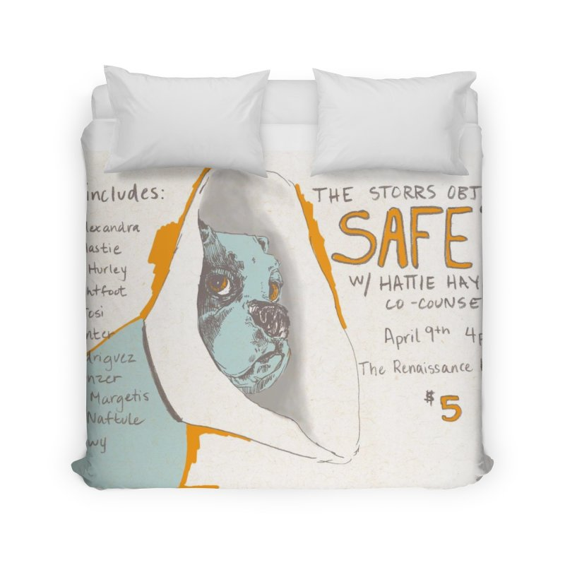 The Storrs Objection: Safety Home Duvet by PEP's Artist Shop
