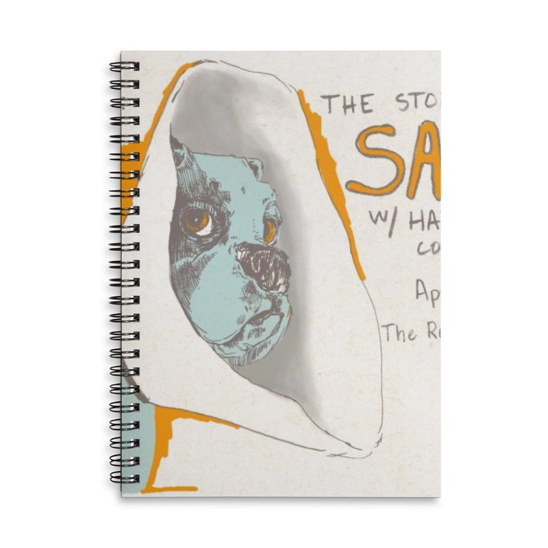 The Storrs Objection: Safety Accessories Lined Spiral Notebook by PEP's Artist Shop