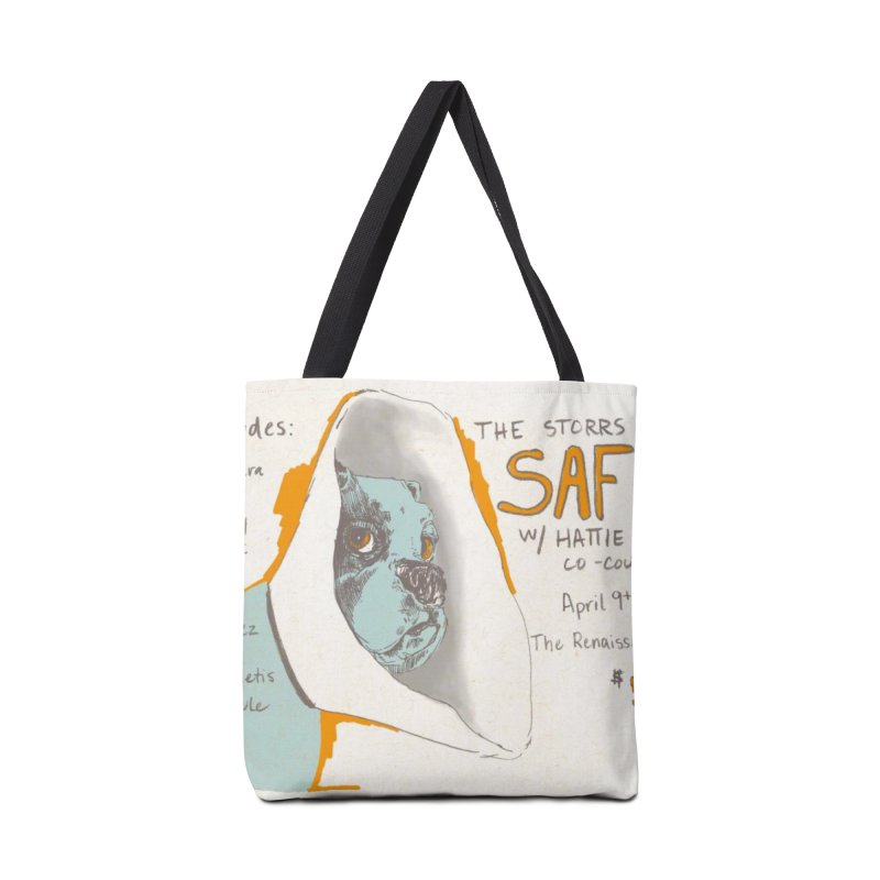 The Storrs Objection: Safety Accessories Tote Bag Bag by PEP's Artist Shop