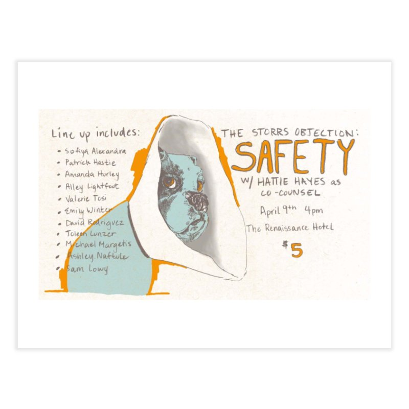 The Storrs Objection: Safety Home Fine Art Print by PEP's Artist Shop