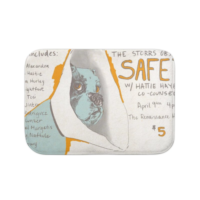The Storrs Objection: Safety Home Bath Mat by PEP's Artist Shop