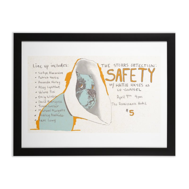 The Storrs Objection: Safety Home Framed Fine Art Print by PEP's Artist Shop