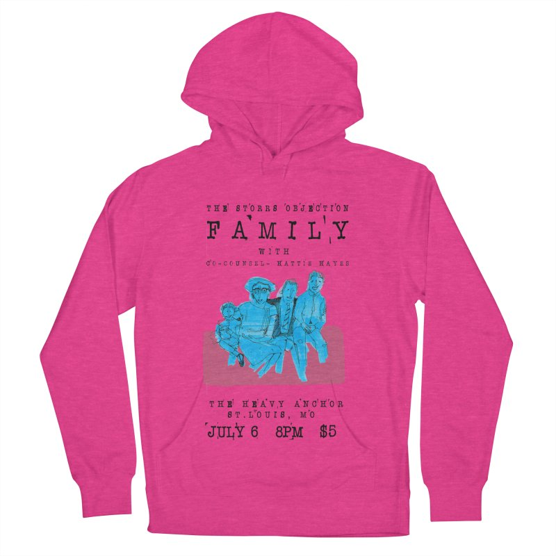 The Storrs Objection: Family Women's Pullover Hoody by PEP's Artist Shop