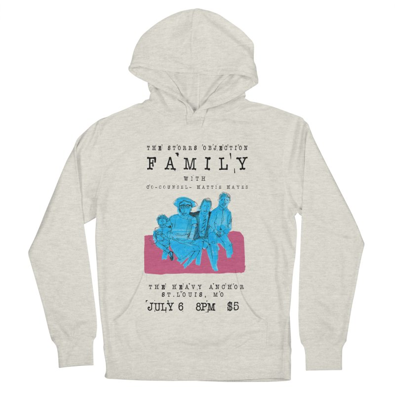 The Storrs Objection: Family Men's French Terry Pullover Hoody by PEP's Artist Shop