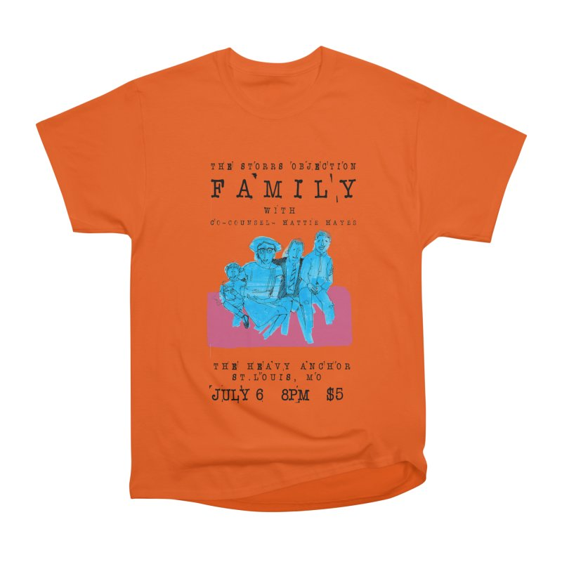 The Storrs Objection: Family Men's Classic T-Shirt by PEP's Artist Shop