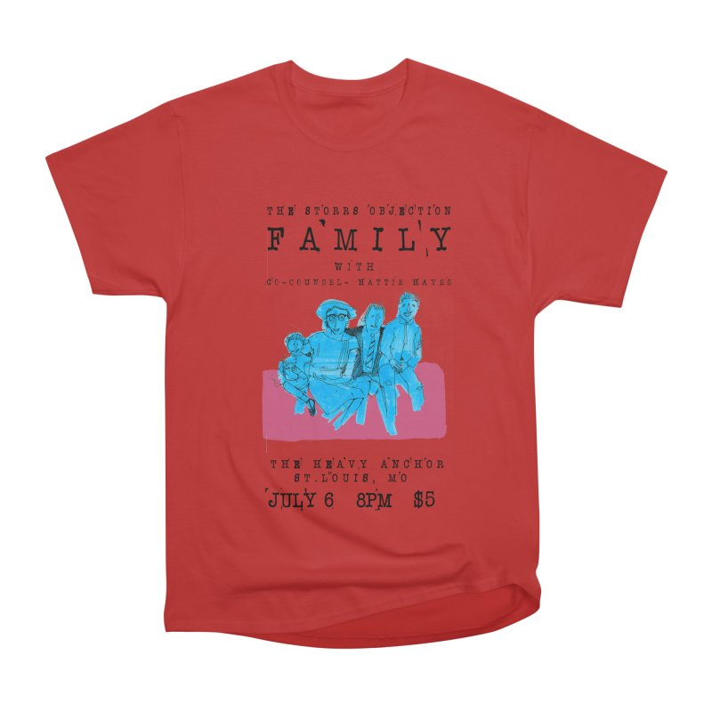 The Storrs Objection: Family Men's Heavyweight T-Shirt by PEP's Artist Shop