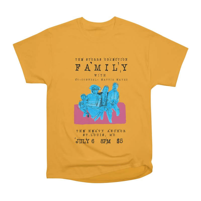 The Storrs Objection: Family Women's Heavyweight Unisex T-Shirt by PEP's Artist Shop