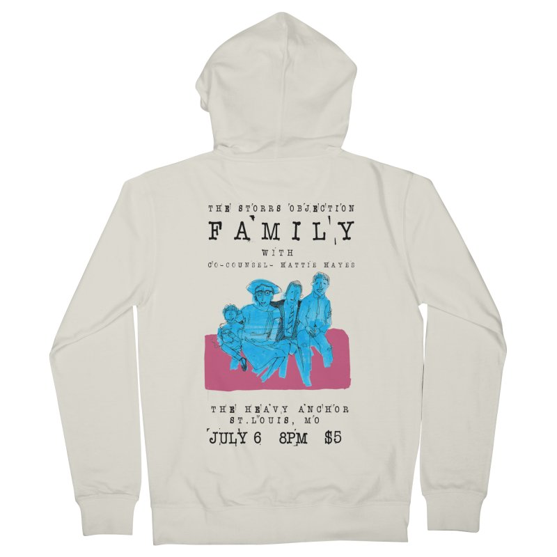 The Storrs Objection: Family Women's French Terry Zip-Up Hoody by PEP's Artist Shop