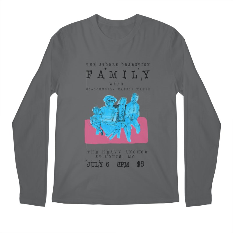 The Storrs Objection: Family Men's Longsleeve T-Shirt by PEP's Artist Shop