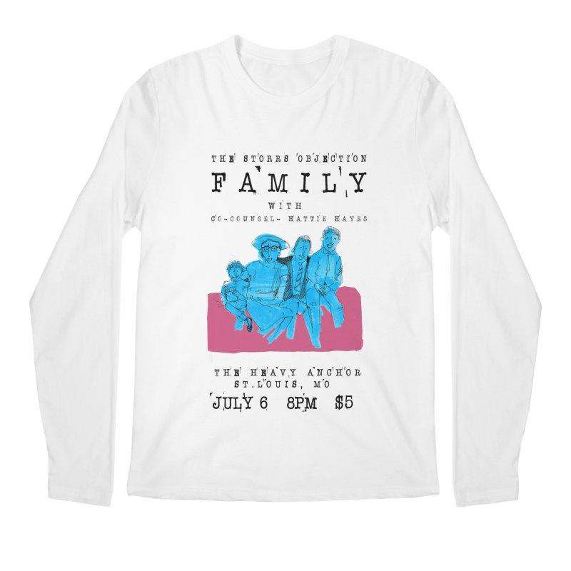 The Storrs Objection: Family Men's Regular Longsleeve T-Shirt by PEP's Artist Shop