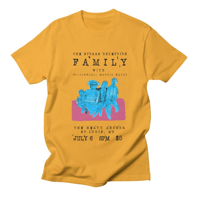 The Storrs Objection: Family Women's Unisex T-Shirt by PEP's Artist Shop