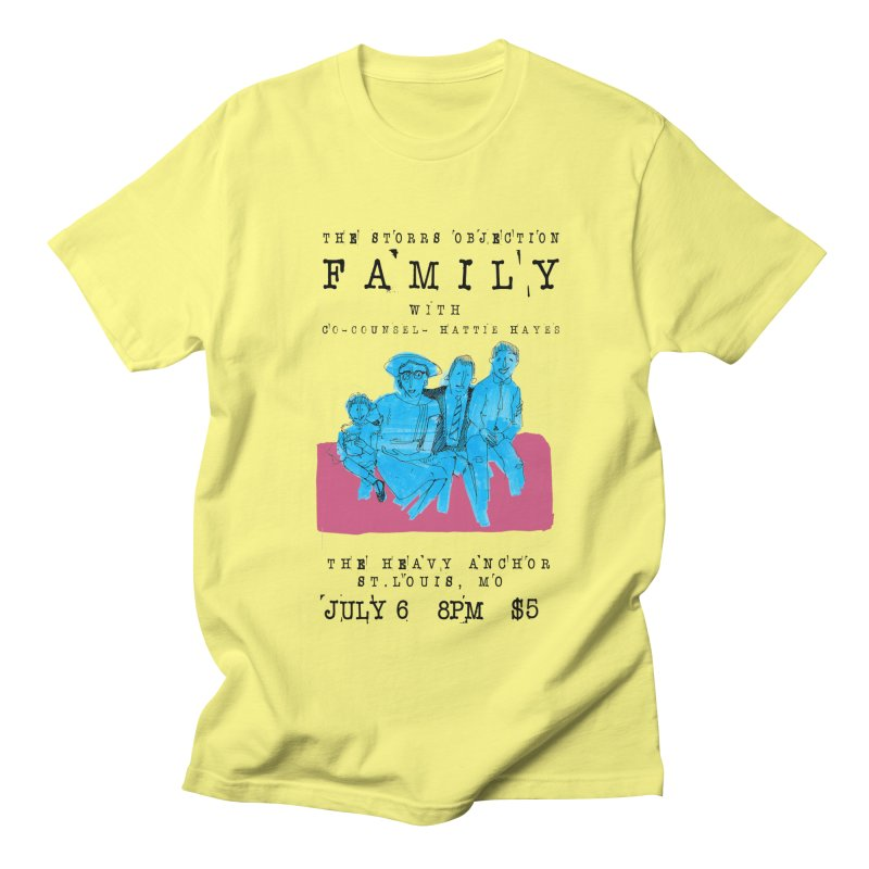 The Storrs Objection: Family Men's T-Shirt by PEP's Artist Shop