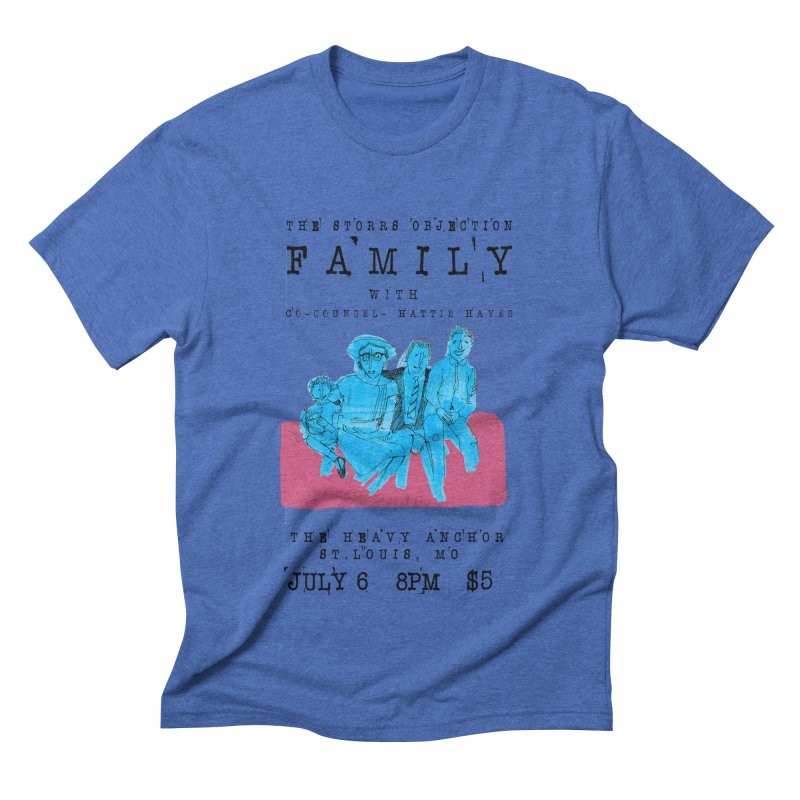 The Storrs Objection: Family Men's Triblend T-shirt by PEP's Artist Shop