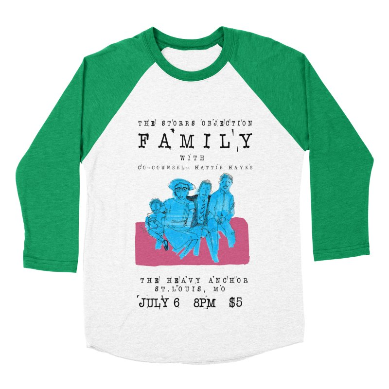 The Storrs Objection: Family Women's Baseball Triblend T-Shirt by PEP's Artist Shop