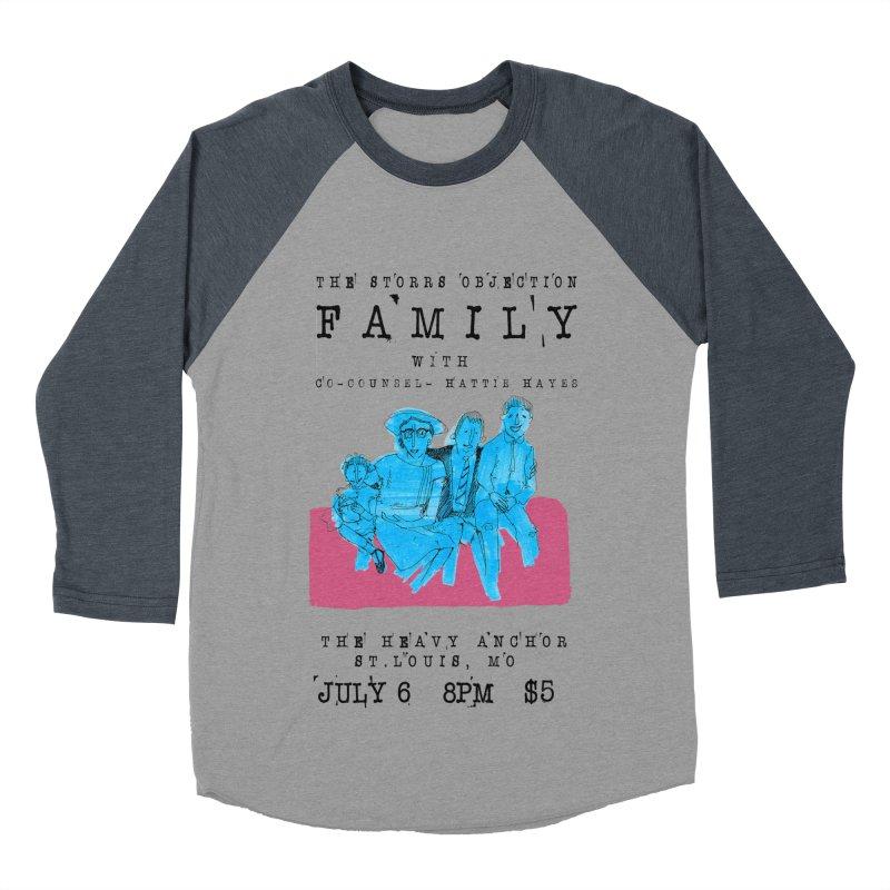The Storrs Objection: Family Men's Baseball Triblend Longsleeve T-Shirt by PEP's Artist Shop