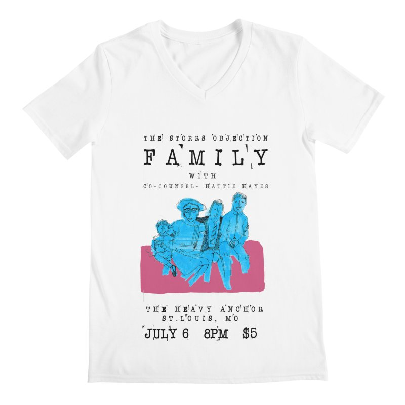 The Storrs Objection: Family Men's V-Neck by PEP's Artist Shop