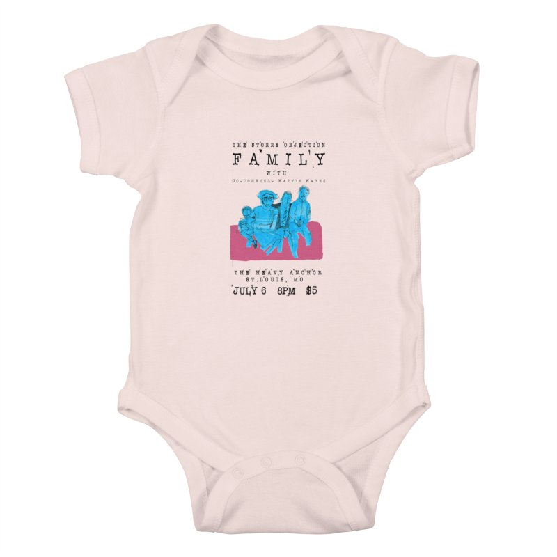 The Storrs Objection: Family Kids Baby Bodysuit by PEP's Artist Shop