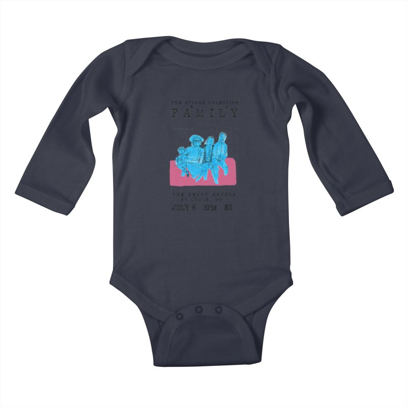 The Storrs Objection: Family Kids Baby Longsleeve Bodysuit by PEP's Artist Shop