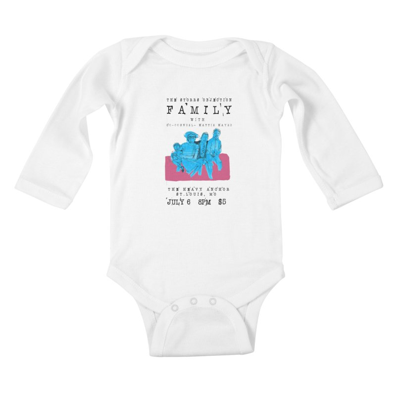 The Storrs Objection: Family Kids Baby Longsleeve Bodysuit by PEP's Artist Shop