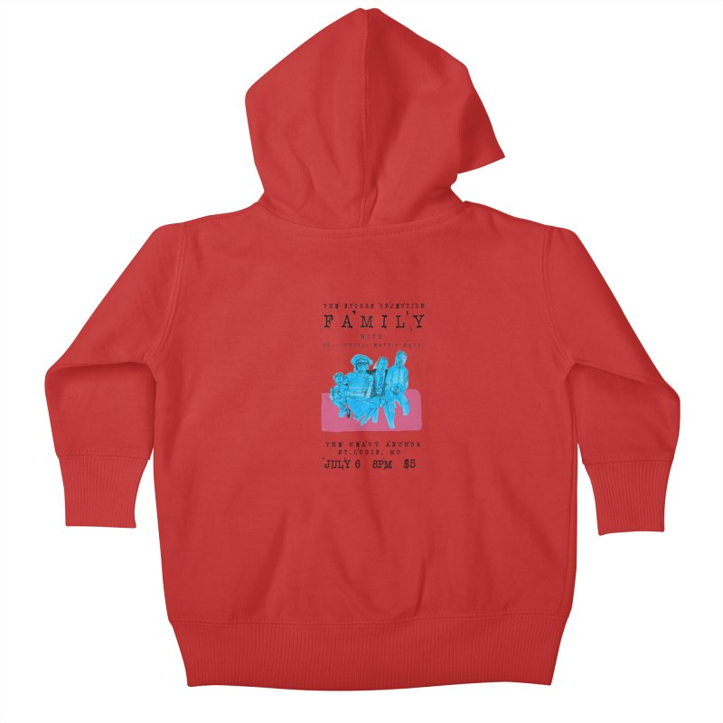 The Storrs Objection: Family Kids Baby Zip-Up Hoody by PEP's Artist Shop