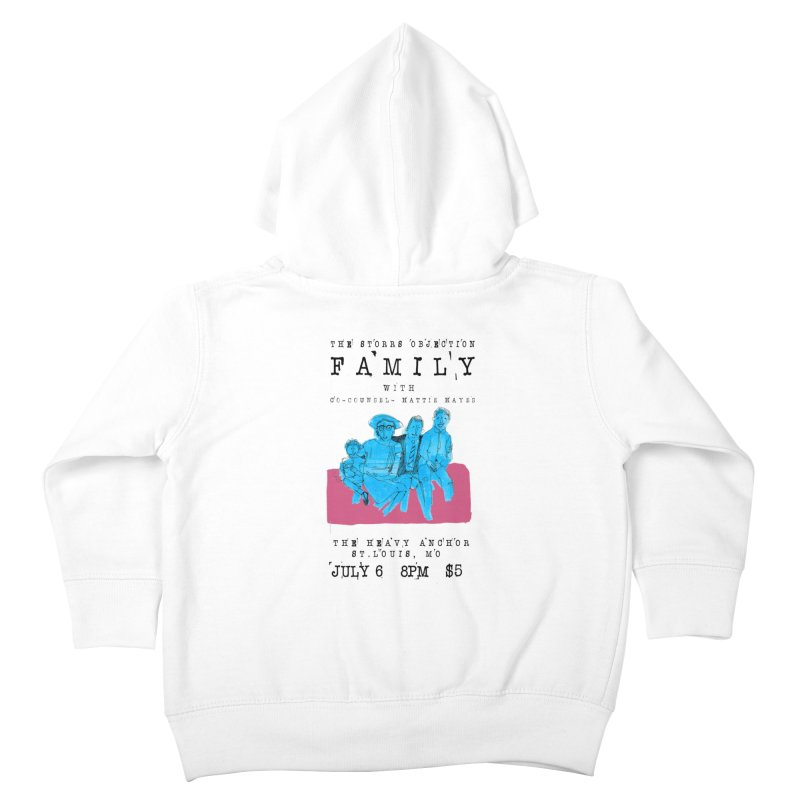 The Storrs Objection: Family Kids Toddler Zip-Up Hoody by PEP's Artist Shop